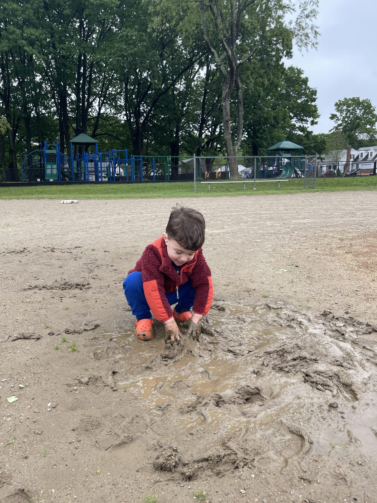 Watching My Son Play in the Mud